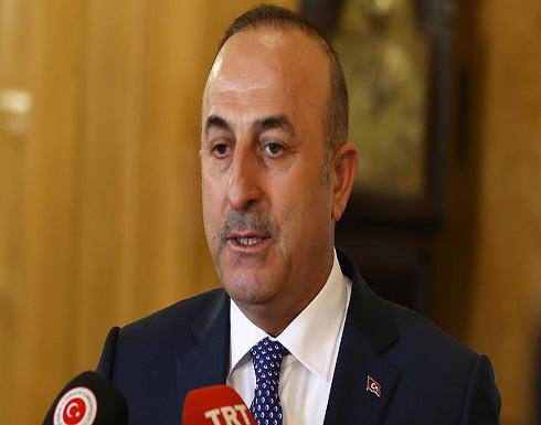 جاويش أوغلو ينتقد مغادرة زعيم قبرص الرومية طاولة المفاوضات