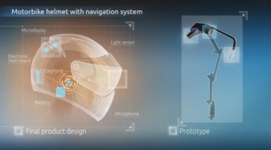 تطوير خوذة ذكية تُزيد تركيز راكبي الدراجات