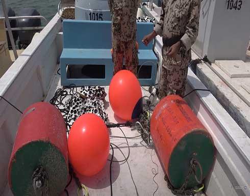 القوات المشتركة تتخلص من ألغام إيرانية بالبحر الأحمر .. بالفيديو