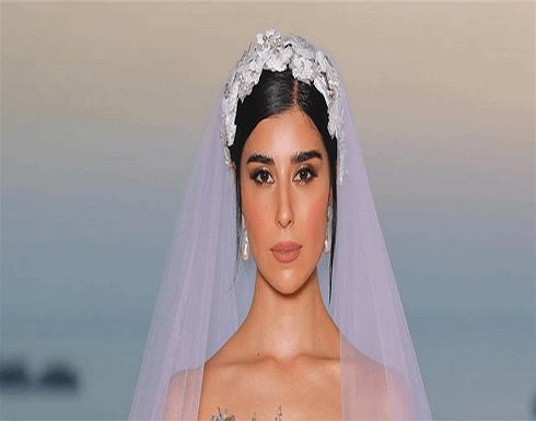 تعليق غريب من زينة مكي بعد حفل زفافها .. شاهد بالصور
