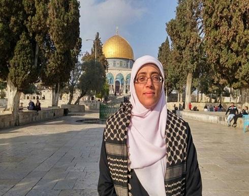 خديجة خويص.. ملاحقات الاحتلال لم تثنها عن الرباط بالأقصى
