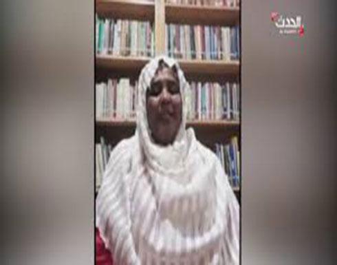بالفيديو : شاهد مريم الصادق المهدي في أول مقابلة لها على الحدث بعد الإفراج عنها