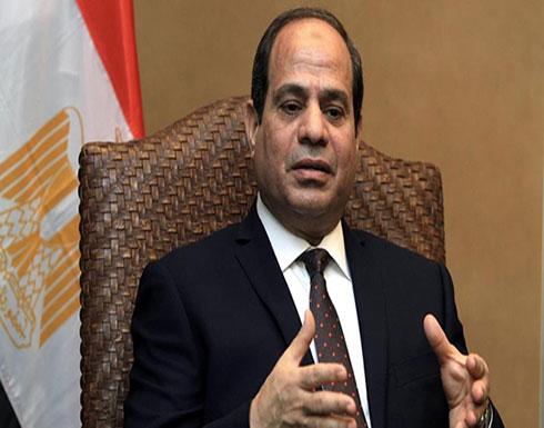 السيسي: سنهزم الإرهاب بإعادة بناء مصر