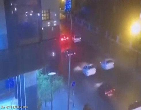 شاهد : كاميرا مراقبة ترصد التفجير المروع قرب معهد الأورام في مصر