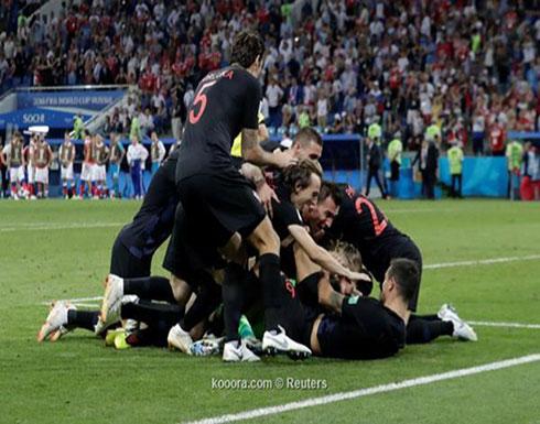 فيديو : كرواتيا تتأهل لنصف  نهائي المونديال  وتنهي  المغامرة  الروسية