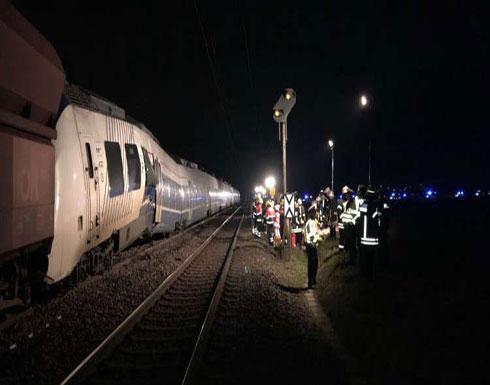 إصابة 50 شخصا بجروح نتيجة تصادم قطارين بغرب ألمانيا