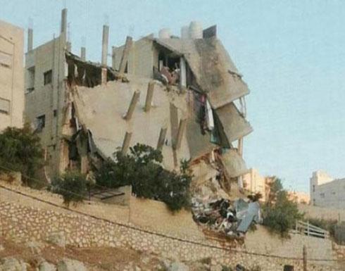 الاردن: العثور على ثلاث جثث لإرهابيين تحت أنقاض المبنى المنهار
