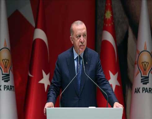 أردوغان: على المسلمين تحمل مسؤولية أمن ومستقبل البشرية