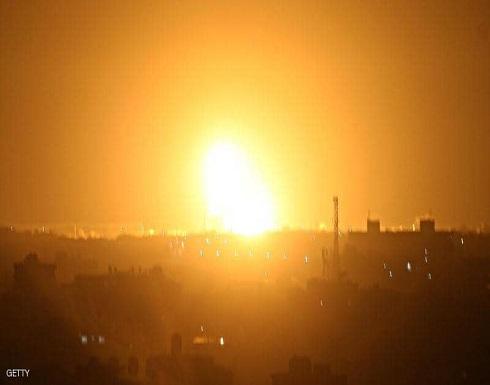 """غارات """" إسرائيلية """" على قطاع غزة"""