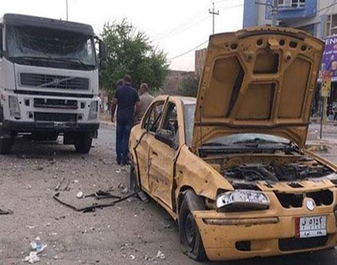 قتيل وثلاثة مصابين بانفجار عبوة في سيارة بكركوك (شاهد)