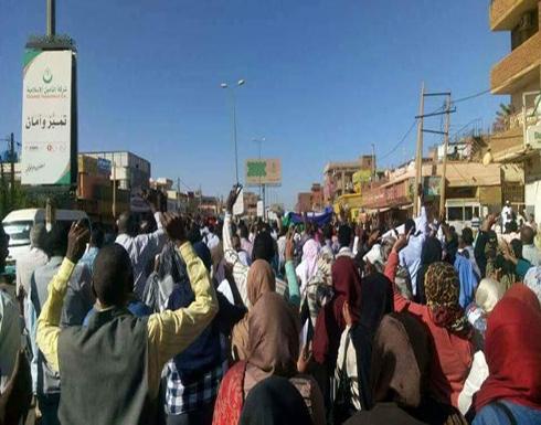 """بالفيديو : تظاهرات """"تصحيح المسار"""" في السودان.. ومطالبات بالإصلاح"""