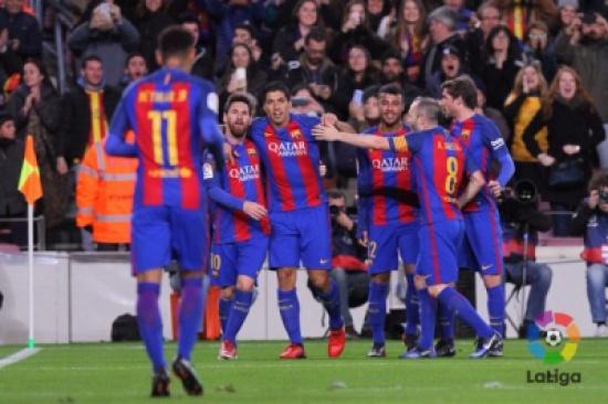 فيديو: برشلونة يتأهل بشق الأنفس في كأس الملك