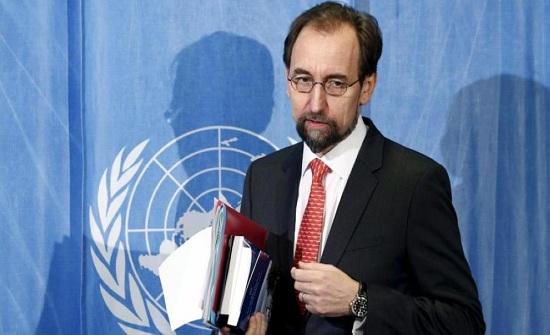 الأمير زيد يطالب بمحاسبة المسؤولين عن مجزرة غزة