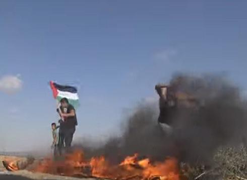 إصابة عشرات الفلسطينيين خلال قمع الجيش الإسرائيلي مسيرات العودة