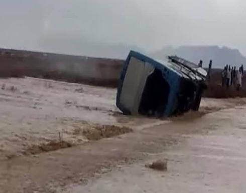 سيول وأمطار وإغلاق طرق رئيسية بين المحافظات في مصر .. بالفيديو