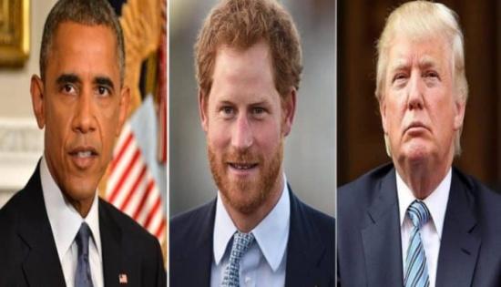 ترامب وأوباما ليسا على قائمة ضيوف زفاف الأمير هاري.. والسبب!
