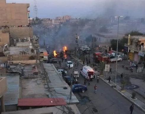 قتلى وجرحى بانفجار سيارة مفخخة شمال بغداد (فيديو)