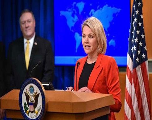 الخارجية الأمريكية تعبر عن القلق إزاء الأوضاع في غزة