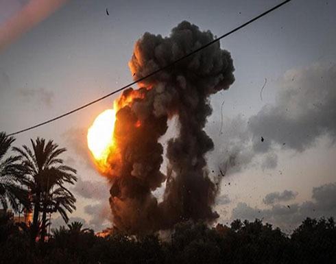 """الجيش الإسرائيلي يعلن مهاجمة 12 هدفًا لـ""""حماس"""" في غزة"""