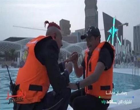 رد فعل كوميدي من محمد هنيدي بعد مقلب رامز جلال .. بالفيديو