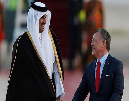 أمير قطر يزور الأردن الاحد