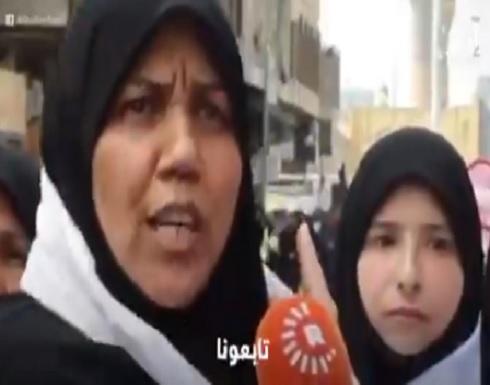 عراقية تدعو المصابين في الصين وإيطاليا وإيران لزيارة الامام الكاظم لهزيمة كورونا