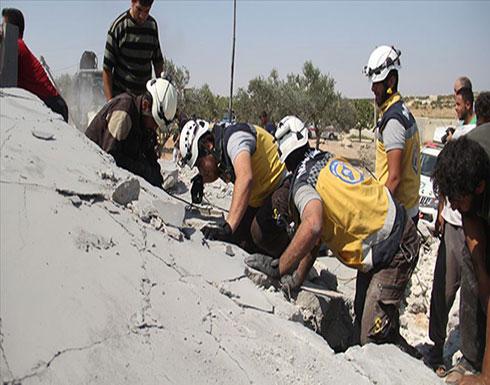 """بالفيديو : مقتل 6 من أسرة واحدة في غارة لنظام الأسد على """"إدلب"""""""