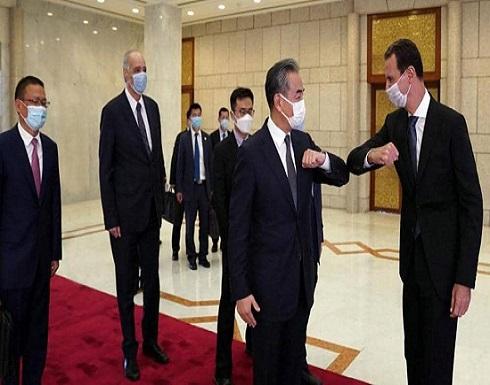من دمشق.. وزير خارجية الصين يطلق مبادرة لحل أزمة سوريا