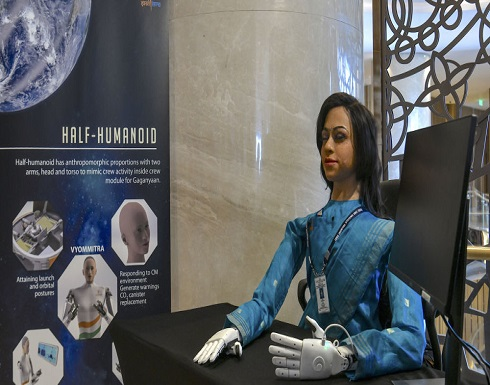 الهند ترسل أول روبوت بشري نصفي إلى الفضاء