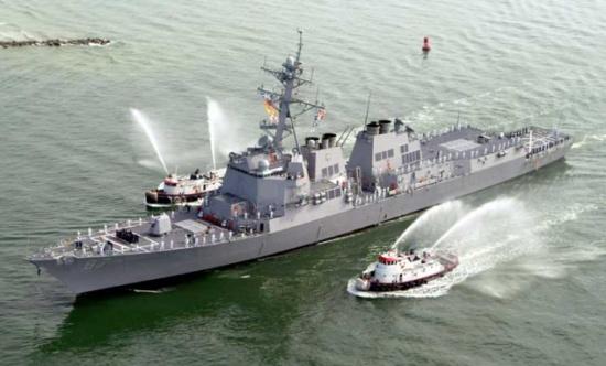 إطلاق صواريخ باتجاه ثلاث سفن حربية أمريكية في البحر الأحمر ولا إصابات