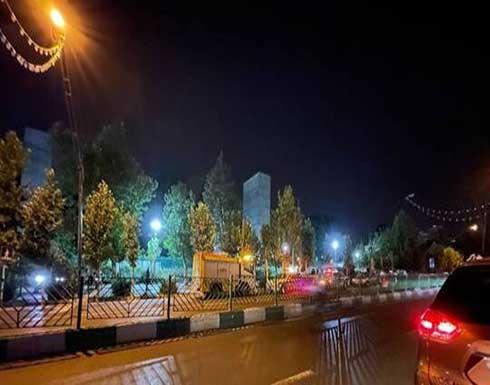 المشاهد الأولى من موقع الانفجار الذي هز طهران .. بالفيديو