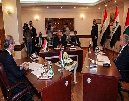 الصفدي يلتقي رئيس الحكومة العراقية ووزير خارجية مصر