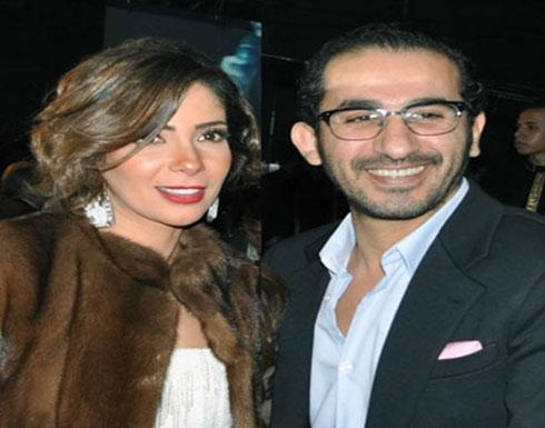 بالصورة - منى زكي تكشف صورة ابنيها من أحمد حلمي؟!