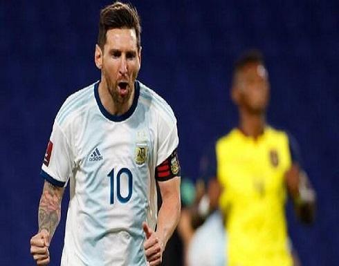ميسي على رأس قائمة الأرجنتين لمباراتي باراغواي وبيرو ضمن تصفيات مونديال قطر 2022