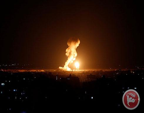 الاحتلال يقصف مرصدا للمقاومة في قطاع غزة