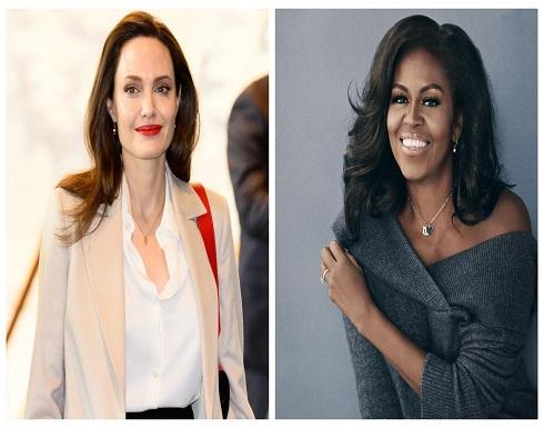 ميشيل أوباما أكثر النساء شعبية وتتفوق على أنجلينا جولي