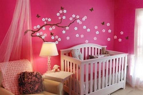 تصاميم لغرف نوم الاطفال حديثي الولادة   (صور )