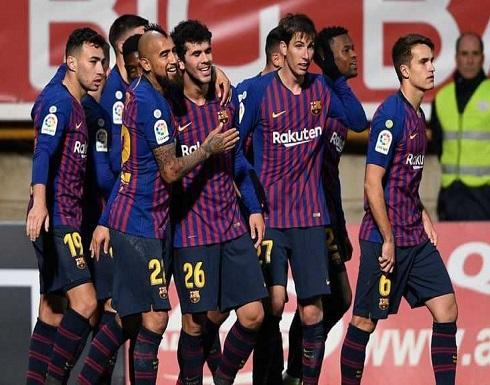 """برشلونة يعبر ليونيسا """"المتواضع"""" بصعوبة"""
