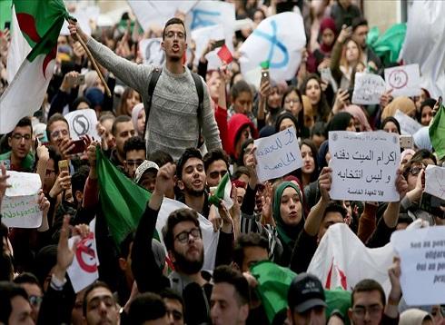 للجمعة الثالثة على التوالي.. مظاهرات حاشدة ضد ترشح بوتفليقة