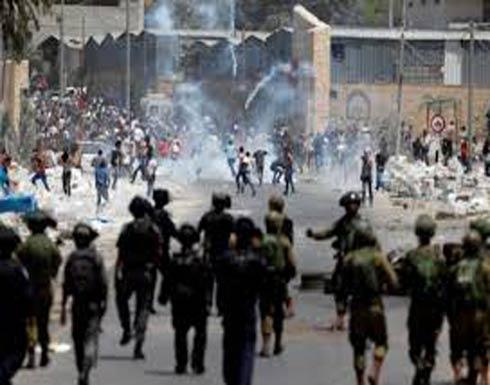 مواجهات عنيفة خلال اقتحام جيش الاحتلال لدورا بالخليل