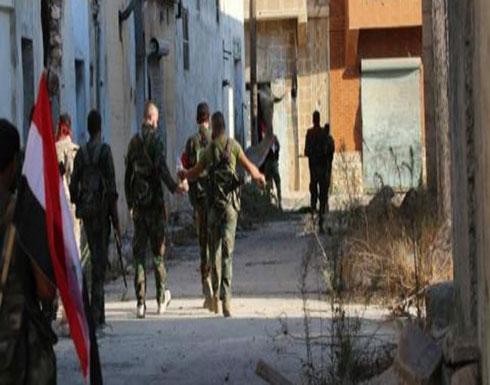 شاهد : المعارضة السورية تأسر 15 جندياً من قوات الأسد في إدلب
