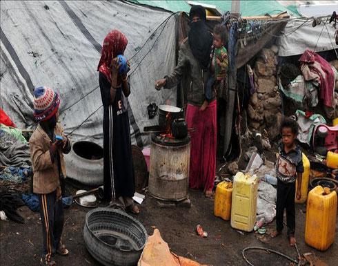 الأمم المتحدة: آلاف النازحين في حجة اليمنية يعيشون ظروفا قاسية