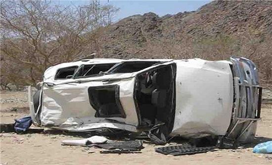 وفاتان و4 اصابات من عائلة اردنية اثر حادث سير في السعودية