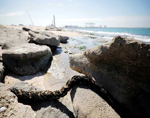 غانتس: إسرائيل ليست المتسبب في التسرب النفطي بالمتوسط