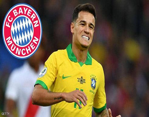 بايرن ميونيخ يبدأ المفاوضات مع برشلونة لضم كوتينيو