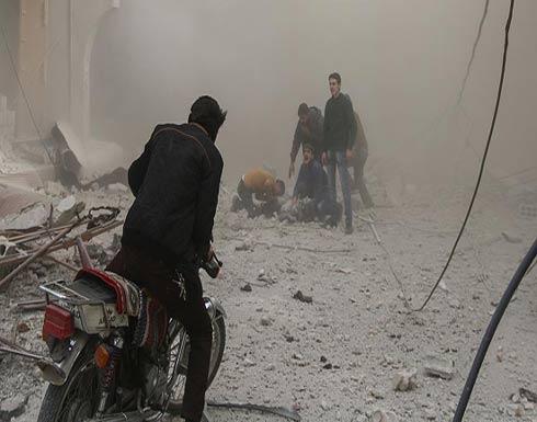 مقتل 6 مدنيين في غارات النظام على الغوطة الشرقية
