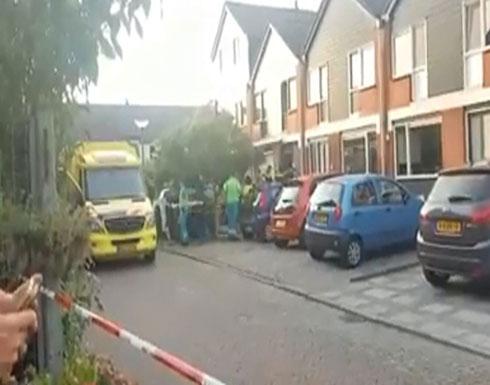 شاهد : إصابات في إطلاق نار بمدينة دوردريخت الهولندية