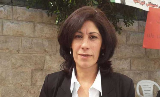 الإحتلال الإسرائيلي يصدر أمر اعتقال اداري بحق نائبة في المجلس التشريعي الفلسطيني