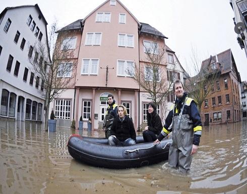 شاهد : فيضانات في ألمانيا