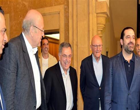 رؤساء حكومات لبنان السابقون: المبادرة الفرنسية فرصة مهمة يجب العمل على إنجاحها